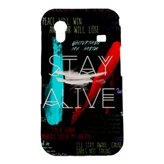 Twenty One Pilots Stay Alive Song Lyrics Quotes Samsung Galaxy Ace S5830 Hardshell Case