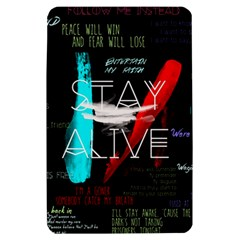 Twenty One Pilots Stay Alive Song Lyrics Quotes Kindle Fire (1st Gen) Hardshell Case