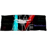 Twenty One Pilots Stay Alive Song Lyrics Quotes Body Pillow Case (Dakimakura) Body Pillow Case