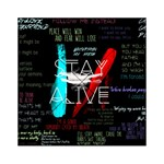 Twenty One Pilots Stay Alive Song Lyrics Quotes Acrylic Tangram Puzzle (6  x 6 ) Front