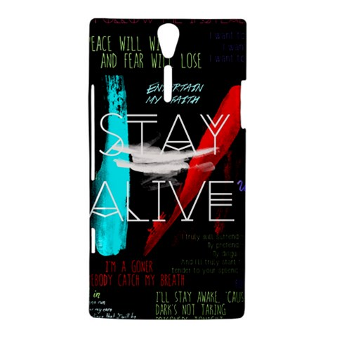 Twenty One Pilots Stay Alive Song Lyrics Quotes Sony Xperia S