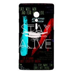 Twenty One Pilots Stay Alive Song Lyrics Quotes Sony Xperia ion