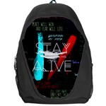 Twenty One Pilots Stay Alive Song Lyrics Quotes Backpack Bag Front