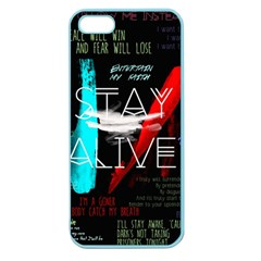 Twenty One Pilots Stay Alive Song Lyrics Quotes Apple Seamless iPhone 5 Case (Color)