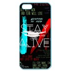 Twenty One Pilots Stay Alive Song Lyrics Quotes Apple Seamless iPhone 5 Case (Color) Front