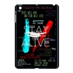 Twenty One Pilots Stay Alive Song Lyrics Quotes Apple iPad Mini Case (Black) Front