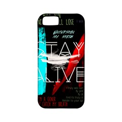 Twenty One Pilots Stay Alive Song Lyrics Quotes Apple Iphone 5 Classic Hardshell Case (pc+silicone)