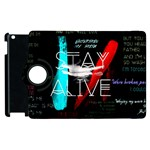 Twenty One Pilots Stay Alive Song Lyrics Quotes Apple iPad 2 Flip 360 Case Front