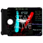 Twenty One Pilots Stay Alive Song Lyrics Quotes Kindle Fire HD Flip 360 Case Front