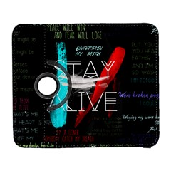 Twenty One Pilots Stay Alive Song Lyrics Quotes Samsung Galaxy S  III Flip 360 Case