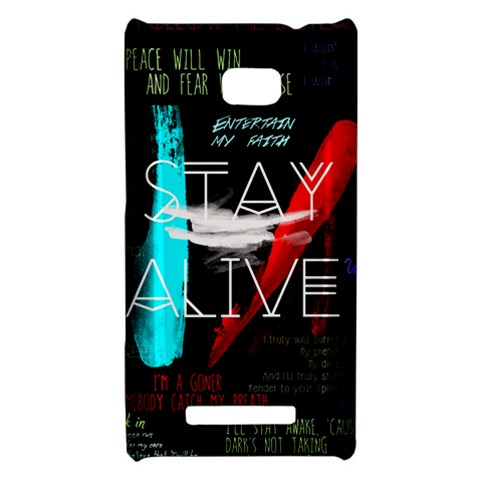 Twenty One Pilots Stay Alive Song Lyrics Quotes HTC 8X