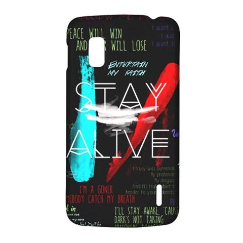 Twenty One Pilots Stay Alive Song Lyrics Quotes LG Nexus 4