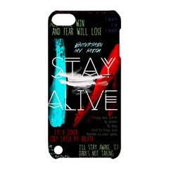 Twenty One Pilots Stay Alive Song Lyrics Quotes Apple Ipod Touch 5 Hardshell Case With Stand