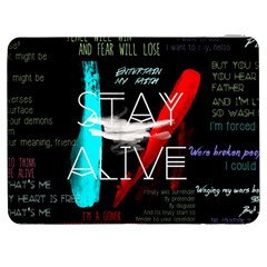 Twenty One Pilots Stay Alive Song Lyrics Quotes Samsung Galaxy Tab 7  P1000 Flip Case