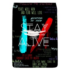 Twenty One Pilots Stay Alive Song Lyrics Quotes Flap Covers (L)