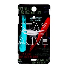 Twenty One Pilots Stay Alive Song Lyrics Quotes Sony Xperia TX