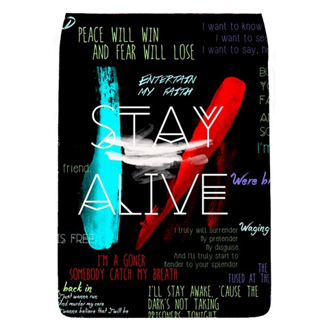 Twenty One Pilots Stay Alive Song Lyrics Quotes Flap Covers (S)