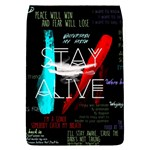Twenty One Pilots Stay Alive Song Lyrics Quotes Flap Covers (S)  Front