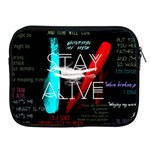 Twenty One Pilots Stay Alive Song Lyrics Quotes Apple iPad 2/3/4 Zipper Cases Front