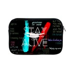 Twenty One Pilots Stay Alive Song Lyrics Quotes Apple iPad Mini Zipper Cases Front