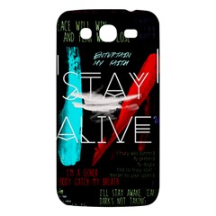 Twenty One Pilots Stay Alive Song Lyrics Quotes Samsung Galaxy Mega 5 8 I9152 Hardshell Case