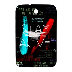 Twenty One Pilots Stay Alive Song Lyrics Quotes Samsung Galaxy Note 8.0 N5100 Hardshell Case
