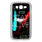 Twenty One Pilots Stay Alive Song Lyrics Quotes Samsung Galaxy Grand DUOS I9082 Case (White) Front