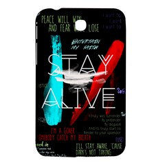 Twenty One Pilots Stay Alive Song Lyrics Quotes Samsung Galaxy Tab 3 (7 ) P3200 Hardshell Case