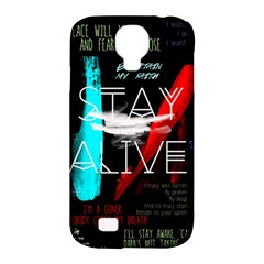 Twenty One Pilots Stay Alive Song Lyrics Quotes Samsung Galaxy S4 Classic Hardshell Case (PC+Silicone)