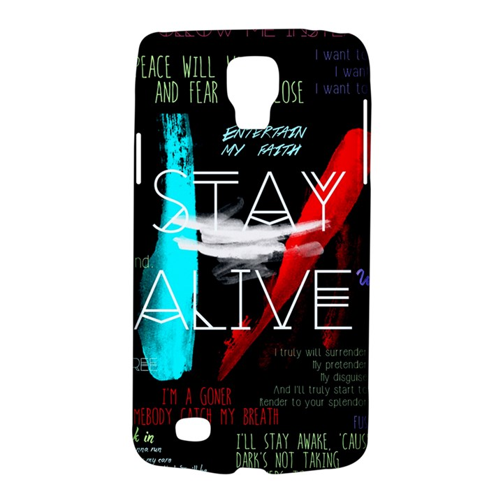 Twenty One Pilots Stay Alive Song Lyrics Quotes Galaxy S4 Active