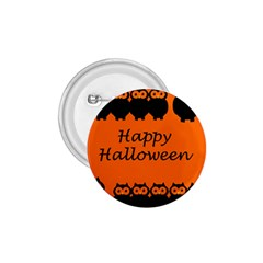 Happy Halloween   Owls 1 75  Buttons