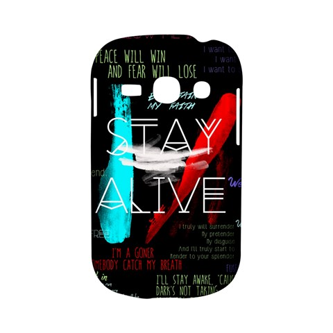 Twenty One Pilots Stay Alive Song Lyrics Quotes Samsung Galaxy S6810 Hardshell Case