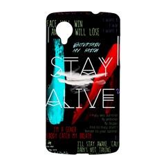 Twenty One Pilots Stay Alive Song Lyrics Quotes LG Nexus 5