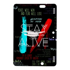 Twenty One Pilots Stay Alive Song Lyrics Quotes Kindle Fire Hdx 8 9  Hardshell Case