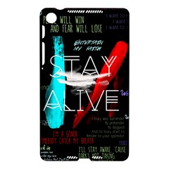 Twenty One Pilots Stay Alive Song Lyrics Quotes Nexus 7 (2013)