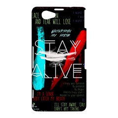 Twenty One Pilots Stay Alive Song Lyrics Quotes Sony Xperia Z1 Compact