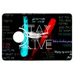 Twenty One Pilots Stay Alive Song Lyrics Quotes Kindle Fire HDX Flip 360 Case Front