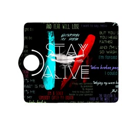 Twenty One Pilots Stay Alive Song Lyrics Quotes Kindle Fire Hdx 8 9  Flip 360 Case
