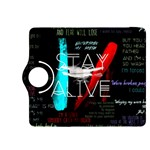 Twenty One Pilots Stay Alive Song Lyrics Quotes Kindle Fire HDX 8.9  Flip 360 Case Front