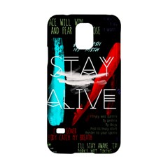 Twenty One Pilots Stay Alive Song Lyrics Quotes Samsung Galaxy S5 Hardshell Case