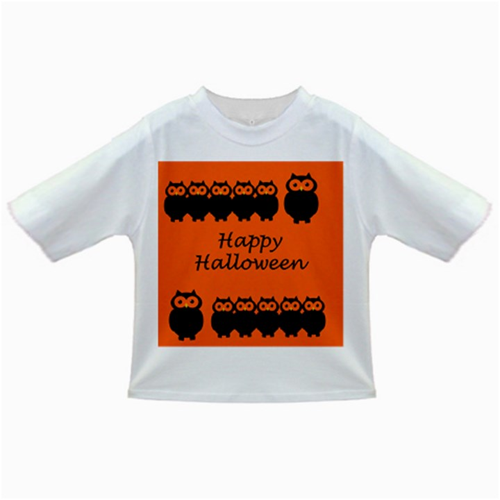 Happy Halloween - owls Infant/Toddler T-Shirts