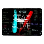 Twenty One Pilots Stay Alive Song Lyrics Quotes Samsung Galaxy Tab Pro 10.1  Flip Case Front