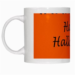 Happy Halloween   Owls White Mugs