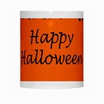 Happy Halloween - owls White Mugs Center