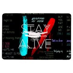 Twenty One Pilots Stay Alive Song Lyrics Quotes iPad Air Flip