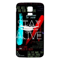 Twenty One Pilots Stay Alive Song Lyrics Quotes Samsung Galaxy S5 Back Case (White)
