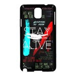 Twenty One Pilots Stay Alive Song Lyrics Quotes Samsung Galaxy Note 3 Neo Hardshell Case (Black) Front
