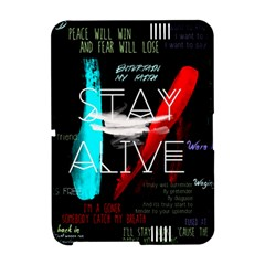 Twenty One Pilots Stay Alive Song Lyrics Quotes Amazon Kindle Fire (2012) Hardshell Case