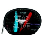 Twenty One Pilots Stay Alive Song Lyrics Quotes Accessory Pouches (Medium)  Front