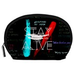 Twenty One Pilots Stay Alive Song Lyrics Quotes Accessory Pouches (Large)  Front